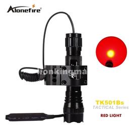 led-scheinwerfer fernschalter Rabatt Alonefire 501B Tactical Flashlight LED Jagdbrenner-Scheinwerfer Shotgun-Beleuchtung + Tactical Scope Mount + Fernschalter