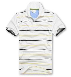 Wholesale Black Yellow Stripe Shirt - US size Casual polo shirt Top Crocodile Embroidery Men Solid Stripe polo shirt brands men polo shirts 100% cotton Short sleeve men S-XXXL