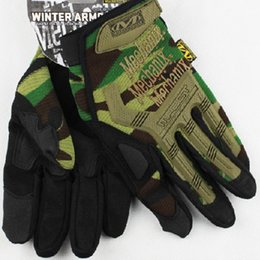 Wholesale Motorcycle Army Combat Men S - Wholesale-Tactical Gloves Military US Army Sports Combat Riding Motorcycle Bike Bicycle Motorcross Gloves