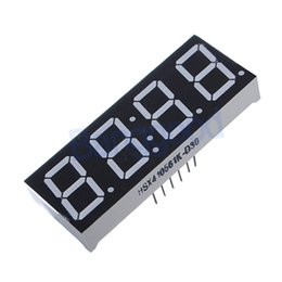 Wholesale Digit Segment - 5pcs 0.56 Inch 7 Segment 4 Digit Super Red Clock LED Display Common Anode Time 12 Pins Free Shipping order<$18no track