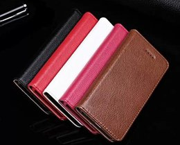 Wholesale Iphone 4s Cute Wallet - Noble For Iphone 4 4S Case Flip Cover Stand Wallet Luxury Original Colorful Slim Cute Genuine Leather Case for Apple Iphone 4 4S