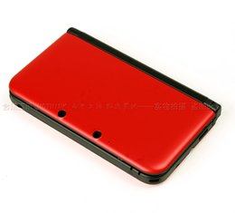 Wholesale Red Nintendo 3ds - Wholesale-Hot New Red Console Full Housing Repair Parts +Tool for Nintendo 3DS XL 3DS LL Shell Case