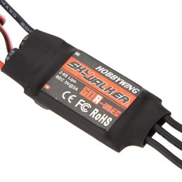 Wholesale Speed Controller Esc Brushless - Original Hobbywing SkyWalker 40A 60A Brushless ESC Speed Controller With BEC order<$18no track