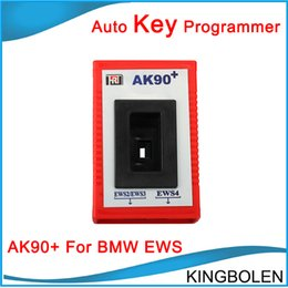 Wholesale Ews Key Programmer - Wholesale AK90 Key Programmer AK90+ Programmer for BMW Key Programmer EWS Newest Version V3.19 Auto Key Programmer dhl free shipping