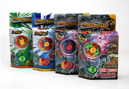 Wholesale Battle Tops Game - 5 style Beyblade Metal Fusion 4D System LOOSE Battle Top Lot Set masters 24 Styles Can choose kids game toys