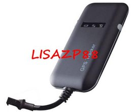 Wholesale Real Time Gps Trackers - Wholesale 4 Band Car Mini GPS tracker GT02A Google link real time tracking Free Shipping