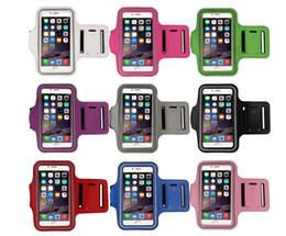 4.5 à 5.1 en plein air Sport Arm Band Case Pour iPhone 5s 6 6S 4.7 Étanche Pour Samsung S3 / S4 / S5 / S6 / S6 Bord PU Brassard En Cuir Couverture ? partir de fabricateur