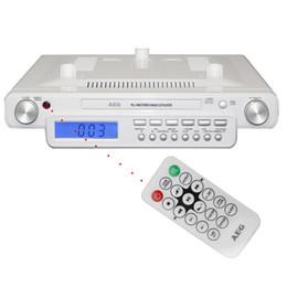 Wholesale Electronic Clock Dual - Electronics 2015 new hot Love life, love music German dual kitchen clock radio cd player Ceiling Machine free shipping