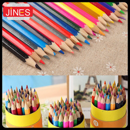 Wholesale Wooden Painting Box - 36 PCS set wooden colored pencils for drawing Writing Sketch Painting Graffiti kids school supplies gift stationery 36 Colors in 1 Box