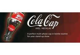 Wholesale Close Up Gimmick - Cola Cap by Axel Hecklau , Only the magic teaching Video send via email, Close-up magic,not include gimmick