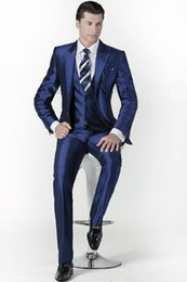 Navy Blue Suit Shiny Reviews | Analog Suit Buying Guides on m ...