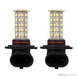 Wholesale Cars 68 - 2pcs Car H10 9140 9145 Fog Lamp headlight Bulb White 68 SMD LED Light 12V 400LM