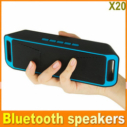Wholesale Power Sound Audio - NEW Portable Bluetooth Speakers Wireless Smart Hands Free Speaker With Big power subwoofer FM Radio Support TF and USB OM-SC-208