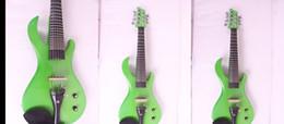 Frete Grátis Tianyin Marca 2015 New Arrival guitarra cabeça 7 Cordas Violino Elétrico 100% Handmade Violino Elétrico de Alta Qualidade de