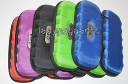 Wholesale Carry Case Wholesaler - case bag Ego case ego leather bag for e cig carry bag 5 colors with Zipper OEM order M size