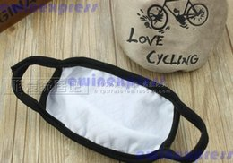 Wholesale Wholesale Flu Masks - Wholesale-20 x Snowboard Ski Riding Biker Flu Mouth Mask Muffle Cycling Love Mask