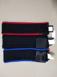 Wholesale Fleece Headband Black - Hot Sup headbands fleece Black, Red and Blue 3color Wool hair band Sweatband