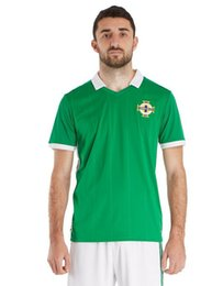 Wholesale K Dryer - New 2018 Northern ireland world cup Jersey McNAIR home green away white K LAFFERTY DAVIS thai quality Northern ireland soccer Jersey