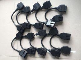 2019 кабель считывателя obd OBD 2 кабель для К ИА 20-контактный для 16-контактный OBD2 OBD диагностический сканер инструмент код Reader адаптер разъем автомобиля кабель к ИА 20-ти штырьковому скидка кабель считывателя obd