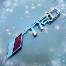 Wholesale Scion Wholesale - Free Shipping SCION TRD ADHESIVE EMBLEM M3674 emblem emblem 3d emblem badge