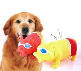 Wholesale Toy Tubas - Yiwu Decompression Tuba Pets Baby Toys Vent Pig Dog Sound Toys Scream Pig 12PCS