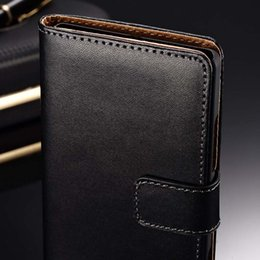 Wholesale Wallet Wholesalers Site - Wholesale-Genuine Leather Case For Samsung Galaxy Note N7000 I9220 Wallet Style Phone Bag With Stand + Care Holders 1 Bill Site