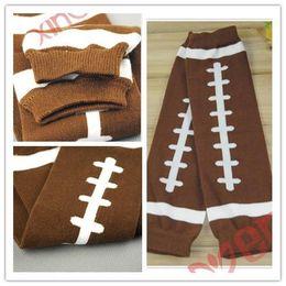 Wholesale Boys Kids Leather Jackets - Christmas Baby socks jacket children football Leg Warmers kids leggings adult arm warmer, children socks cotton four seasons paragraph