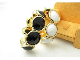 Wholesale Round Box For Ring - Fashion Jewelry Korea Star Gem Round Trendy Charm Bracelet & Bangle For Woman 2015 New Gift SALE