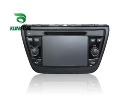 Wholesale Sx4 Dvd - Quad Core 1024*600 Screen Android 5.1 Car DVD GPS Navigation Player for Suzuki SX4 S-Cross 2014 Radio Bluetooth 3G steering wheel control