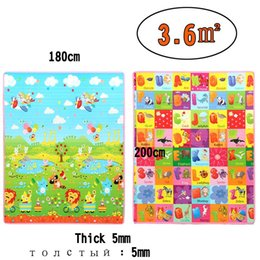 Wholesale Play Park Kids - Meitoku Baby Kid Toddler Play Crawl Mat Carpet Animal Amusement Park and Letters Playmat Foam Blanket Rug for In   Out Doors