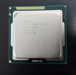 2019 x58 motherboards Intel Xeon E3-1240 3,3 GHz SR00K Quad-Core 8M Cache LGA 1155 Prozessor E3 1240