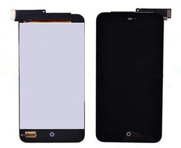 Wholesale Display Lcd Meizu Mx2 - Wholesale-LCD Display+Touch Screen Digitizer Assembly For Meizu MX2 MX 2 M040 Black White Color 1PC Lot Free Shipping+Tracking Number