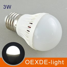 Wholesale E27 Globe Dimmable - 3W 5W 7W 9W LED bulbs LED Globe Light Energy Saving 110v 220v E27 Dimmable led lamp 2 years warranty 5730 oexde