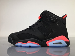 Wholesale Cheap Winter Boots Online - FREE SHIPPING 2017 AIR RETRO 6 BLACK INFRARED 23-BLACK NOIR ROSEIN-NOIR CHEAP BASKETBALL SHOES INFRARED SNEAKER SPORT SHOE FOR ONLINE SALE