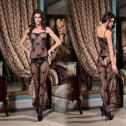 Wholesale Adult Baby Lingerie - w1022 Sexy Mesh Lingerie Female Adult Sex Toys Baby Doll Sexy Lingerie Sleepwear For Women Extremely Sexy Bodystocking