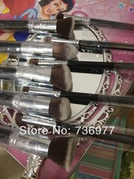 Wholesale Synthetic Precision Brush - Newest Synthetic precision makeup brush 10 Brushes+retail packaging,F + P serial