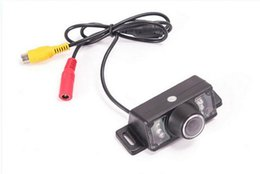 Wholesale Rearview Cameras - Free Send - HD infrared night vision reversing camera plug-GM car rearview video camera with 6 Vermicelli
