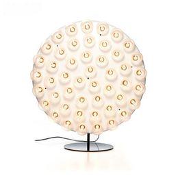 Wholesale Floor Lighting Strips - New Classics Art Creative Roundness Floor Lamps Living Room Bedroom Study Room Luxurious Hall Strip Type Floor Lighting Lamps