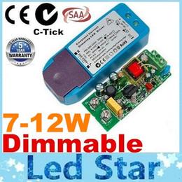 12w светодиодный драйвер Скидка Лучше всего для светодиодных осветительных трансформаторов. Сертификация 100% C-tick SAA. Светодиодный регулятор с регулируемой яркостью.