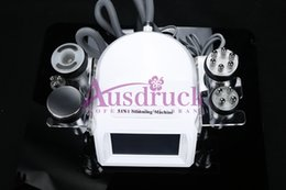 Wholesale Liposuction Machines For Sale - The lowest price 5 probes ultrasonic liposuction 40K cavitation vacuum rf equipment weight loss body slimming machine for sale