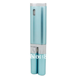 sg electric Promo Codes - Wholesale-Free Shipping Eco-friendly plastic 1minute 22000 strokes Electric Toothbrush (SG-929)with Sanitizer Sky blue Gift