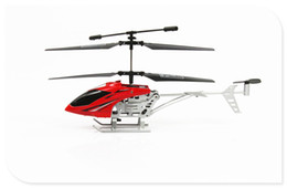 Wholesale Channel Radio Set - 2 Channel RC Remote Control Gyroscope Small Helicopter Toy Exouisite Radio Control Model Airplane Toys Set Birthday Christmas Gift E Version