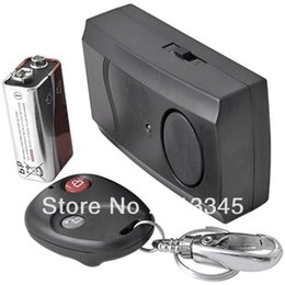 Wholesale Hk Post Free Shipping - Wholesale-Motorcycle Motorbike Scooter Anti-theft Security Alarm + 10pcs lot HK post free shipping