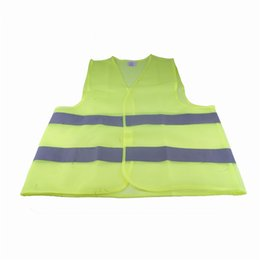 Wholesale traffic vests - Reflective Warning Vest Fluorescent Yellow High Intensity Reflection Safety Articles Traffic Safe Clothing 2 9yr C R