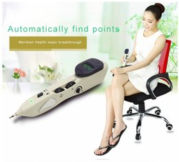 Wholesale Meridian Massage Therapy - 2016 new ly-508b acupuncture meridian pen Electronic massage acupuncture pen point massage instrument for hole equipment 508b
