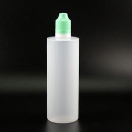 Canada Le compte-gouttes en plastique de la double preuve 120ML met en bouteille 100PCS avec des capsules sûres de preuve de sécurité de preuve d'enfant sûrs de bouteilles de compression de vapeur Offre