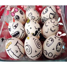 Wholesale Hen Nesting - Wholesale- 6pcs Dummy Nesting Fake Eggs Baby Toys Kitchen Toys Early Educational Toys Wood Chicken Egg Hen Easter Egg Decoration