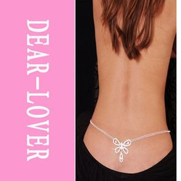 Wholesale Low Cost Rhinestone - costume jewelry,Butterfly Rhinestone Belly Chain and Lower Back LC0634 Cheaper price + Free Shipping Cost + Fast Delivery FG1511