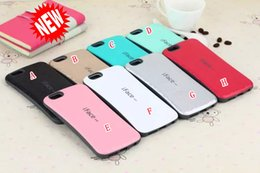 Wholesale Iface Shockproof Iphone Case - Korea IFACE Soap Diamond Soft TPU + PC Phone Case Square Durable ShockProof For iphone 6S 6 Plus 4.7 5.5 5 5C 5G 5S 4 4S skin Rubber Luxury