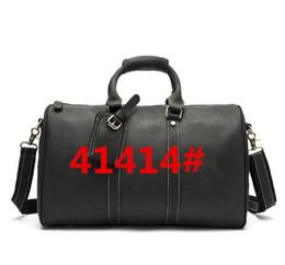 Wholesale Large Clear Handbags - 2017 hot Luxury men women travel bag duffle bag designer luggage handbags large capacity sports bag 41414#